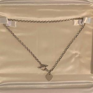 Kay 14K White Gold Heart Necklace ❤️